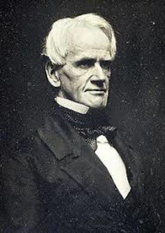 Horace Mann Elected Secretary