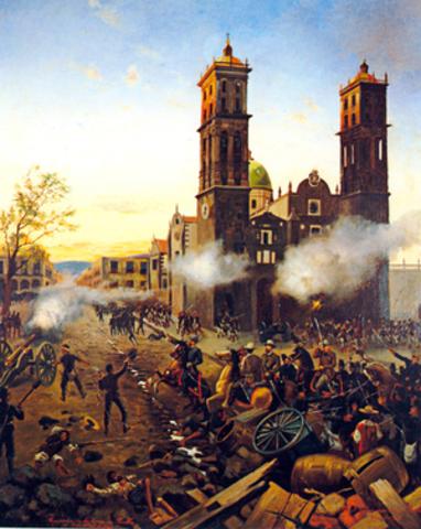 La toma de Puebla