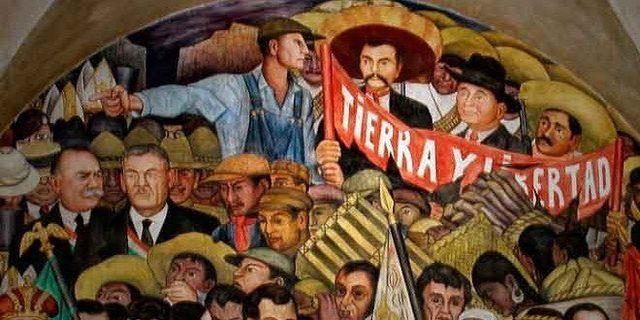 El inicio a revolución Mexicana