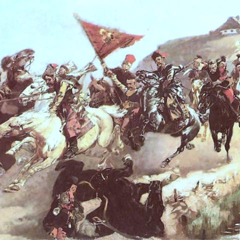 Начало русско-польской войны