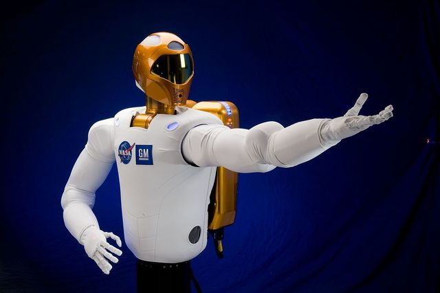 Robot humanoide utilizado como astronauta