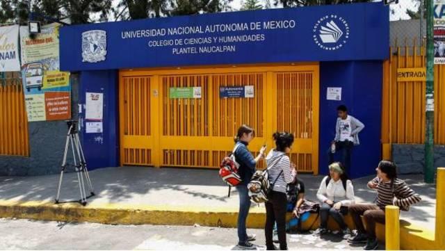 Alumnos del CCH Naucalpan agredieron a trabajadores del plantel
