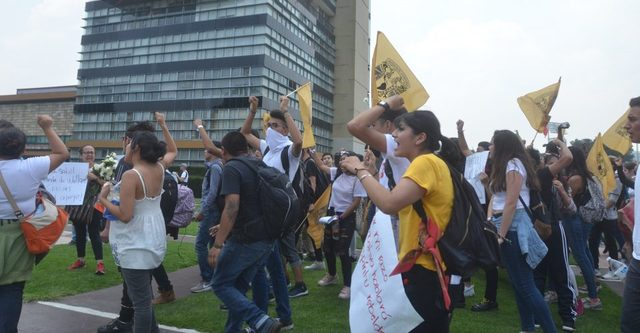 Protestas de CCH´s