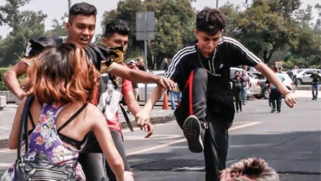 Ataque porril en Ciudad Universitaria