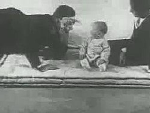 John B Watson kis Albert félelemkondicionálása