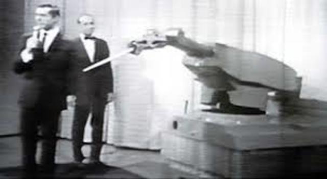 primer robot Unimate,