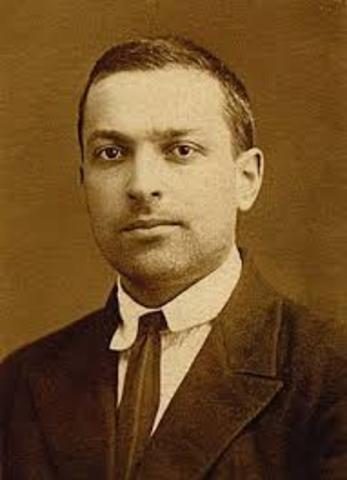 Lev Szemjonovics Vigotszkij (1896-1934)