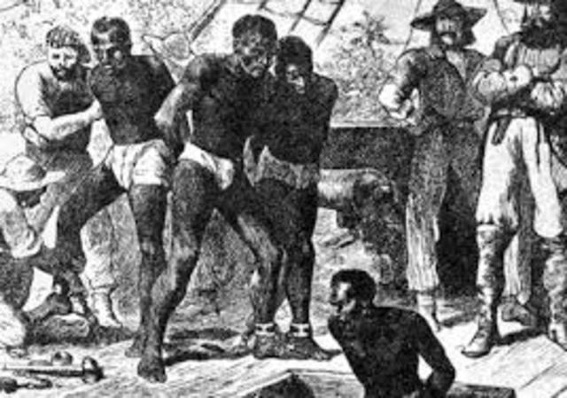 First record of African slaves.