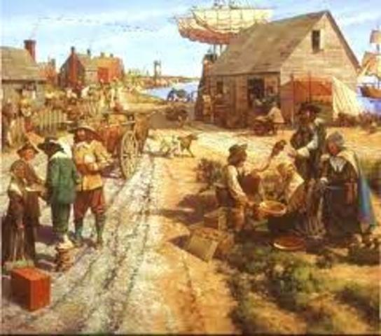 Plymouth Colony Established