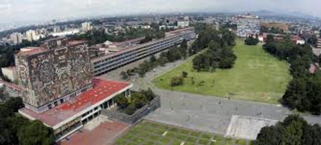 Inicio de la construcción de Ciudad Universitaria