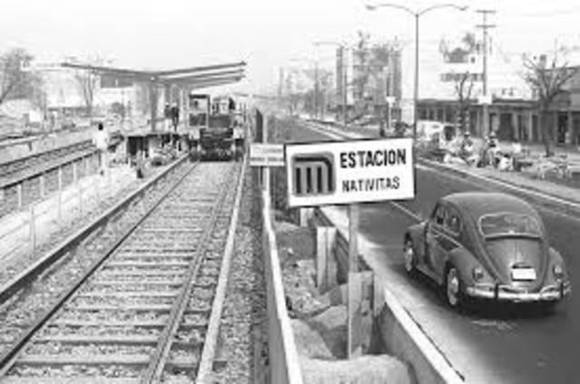 La construcción del Metro.