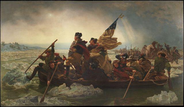 Washington Crossing the Delware