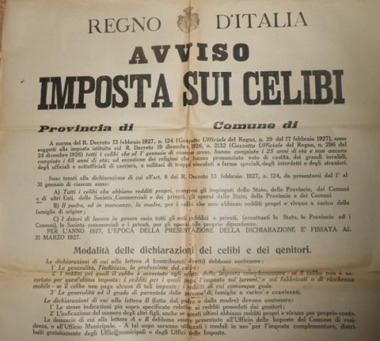 AÑO 1927-ITALIA