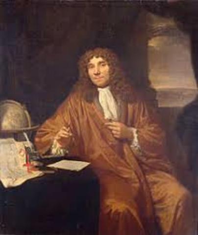 Anton Vaan Leeuwenhoek (17th century)