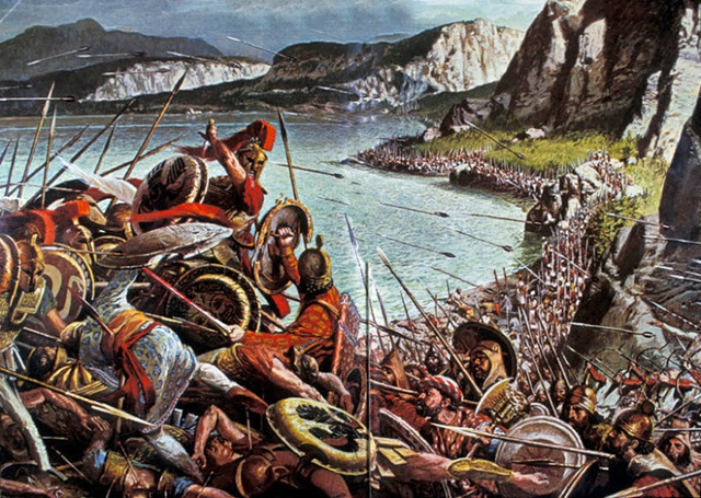 Batallas de las Temóplitas y Salamina