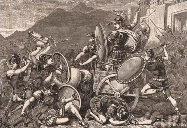 Los persas son derrotados en la batalla del Maratón