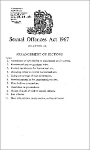 AÑO 1967, INGLATERRA Y GALES