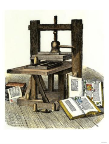 Desarollo de la imprenta