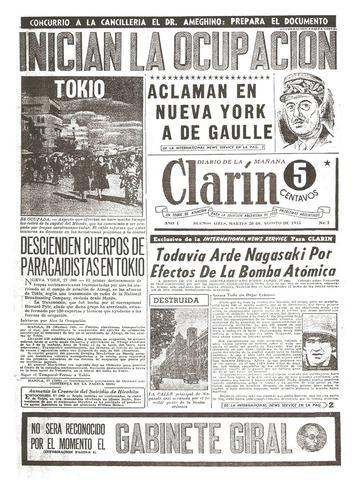 Nace Clarín