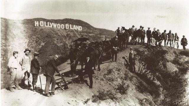 Nacimiento de Hollywood