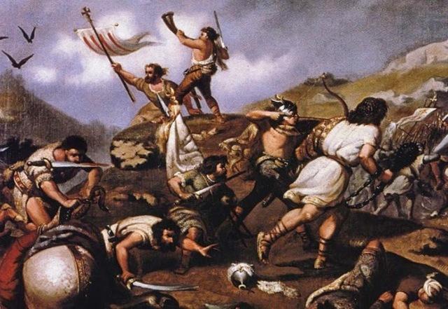 Saqueo de Atenas por el ejército de Sila.