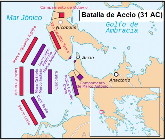 Batalla de Accio.