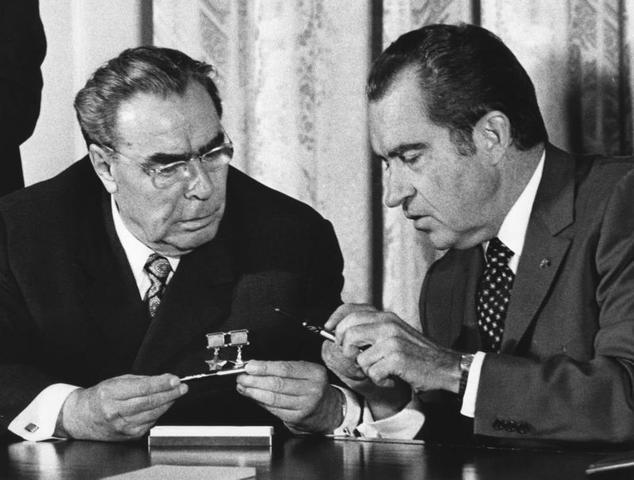 Nixon à Moscou