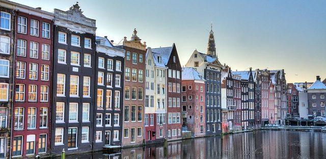 Amsterdamse gracht huizen