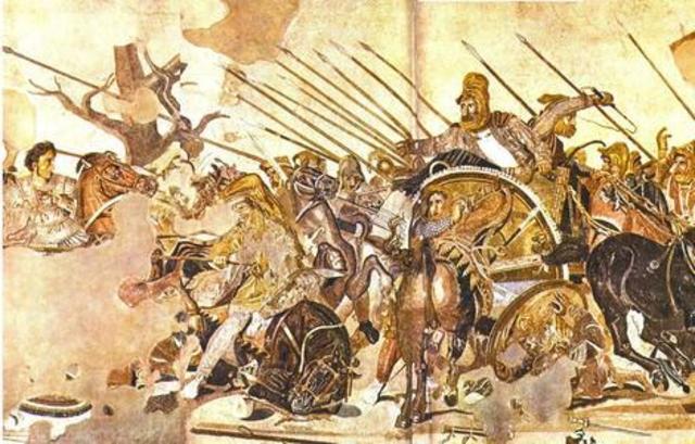Filipo II muere y le sucede a su hijo Alejandro