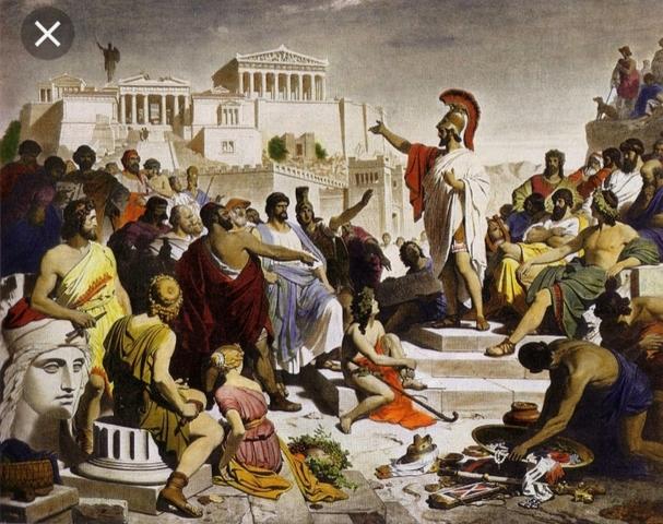 La democracia en Atenas