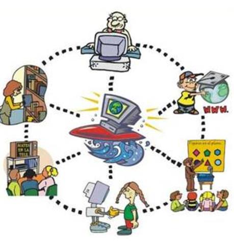 Llegada de Internet a la escuela y la sociedad