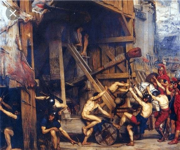 Saqueo de Atenas por el ejercito de Sila
