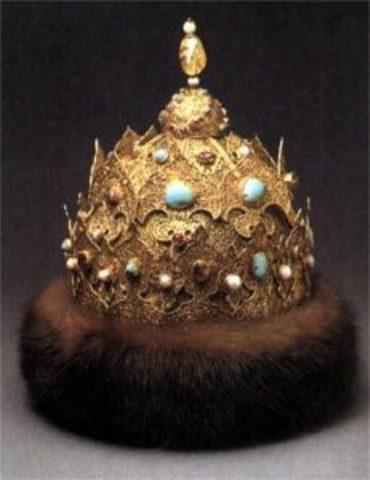 Ivan Crowned Tsar