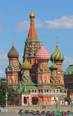 St. Basil's Cathedral is Built