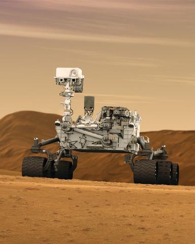 Curiosity créé par la NASA