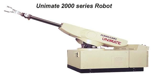 Robot Unimate de Georges Devol et Joseph Engelberger