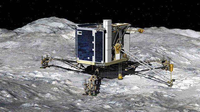 Philae du centre national d'études spatiales