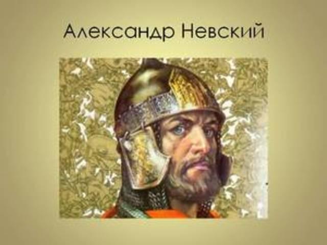 Александр Невский, Невская битва