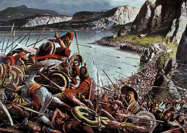 Comienzo de las guerras de Esparta y Persia