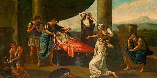 Muerte de Alejandro en Babilonia.