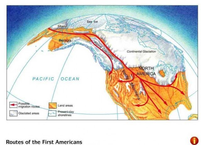 First humans enter the Americas