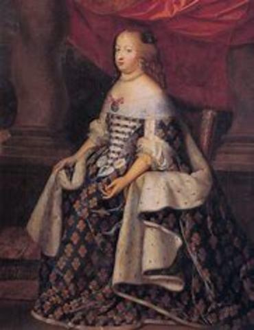 Death of Louis XIV's wife Maria Teresa