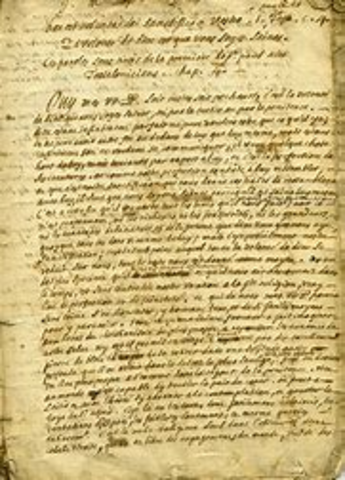 Letter to Louis XIV