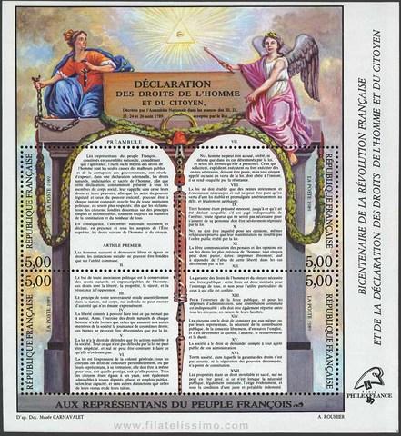 Declaración de los Derechos del Hombre y del Ciudadano.