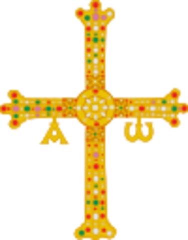 Creación del reino de Asturias