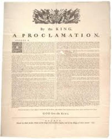 Proclamation of 1763 law is passed