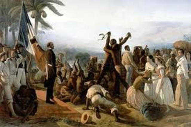 Slavery abolished in all colonies