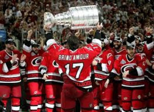 North Carolina Hurricanes won hockey's Stanley Cup
