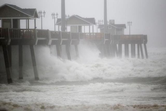 Hurricane Irene made landfall in North Carolina