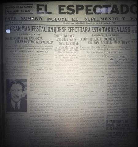 La destitución del alcalde Cuervo y sus implicaciones.